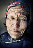 image of mongolian  - Mongolian woman in traditional dress - JPG