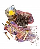 stock photo of batik  - Tools for batik  - JPG