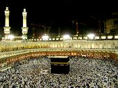 stock photo of mekah  - The holiest place of Muslims  - JPG