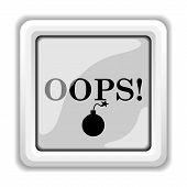 image of oops  - Oops icon - JPG