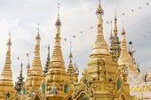 foto of yangon  - The Shwedagon Pagoda - JPG
