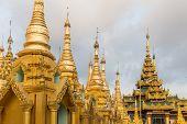 image of yangon  - The Shwedagon Pagoda - JPG