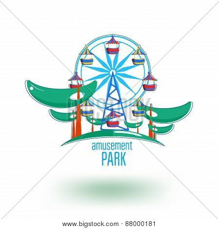 park logo template