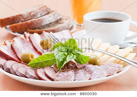 Served Breakfast