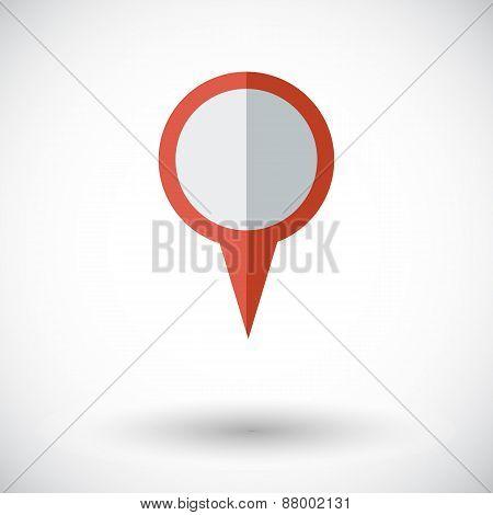 Map pointer.