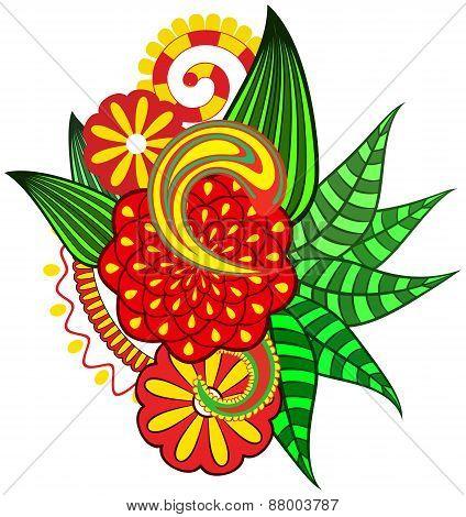 Ornate Flower.