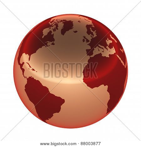 Earth Metal Red