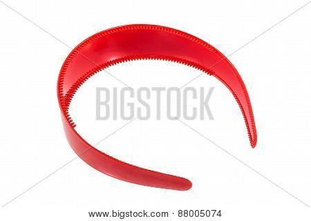 Red Hair Band