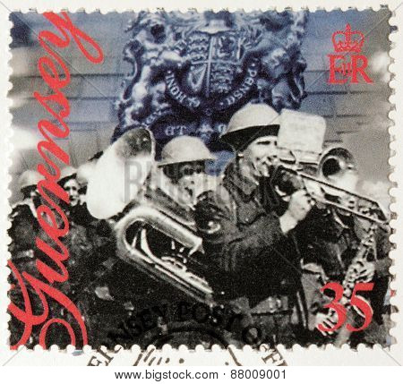 Military Band Stamp