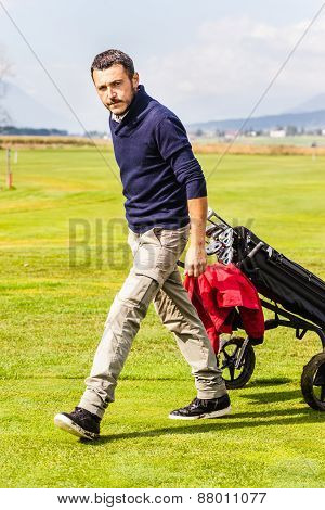 Serious Golf Player