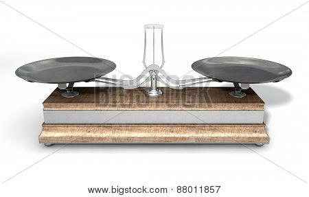 Two Pan Balance Scale