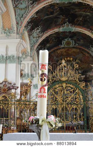 shrine in Saint Gallen church