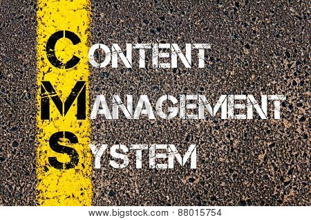 Acronym Cms - Content Management System