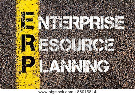 Acronym Erp - Enterprise Resource Planning