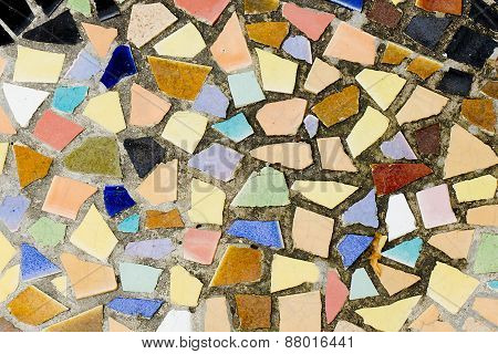 Colorful Mosaic Tile And Decorative