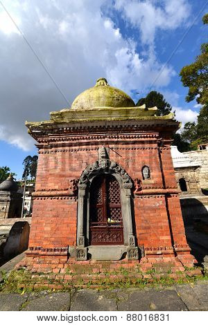 Votive Temple And Shrine In Pashupatinath, Nepal