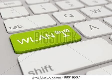 Keyboard - Wlan - Green