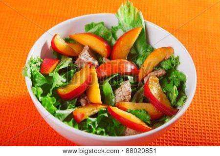 Chicken Salad With Peaches