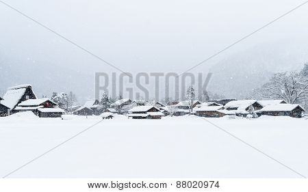 White Shirakawa-go
