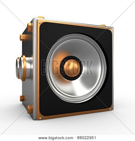 Speaker, 3D