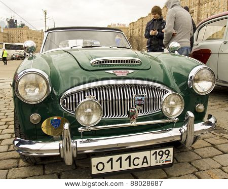 Retro Car Austin-healey