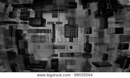 carbon and glass background