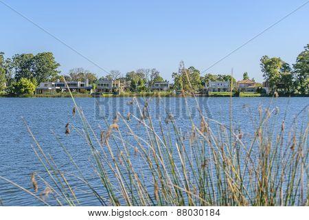 Parque Miramar Lake In Canelones Uruguay