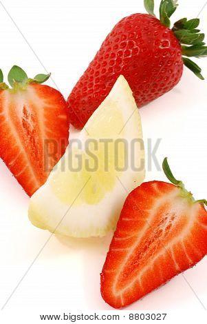 Strawberry Strawberries And Lemon Juice