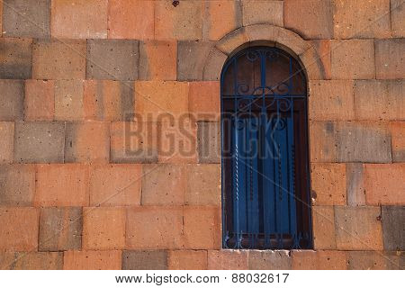Window And Wall Of Church In Armenia