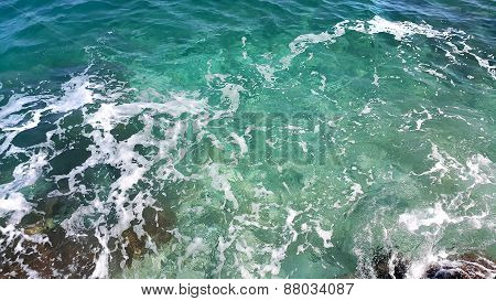 Transparent Sea Water Background