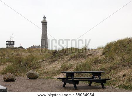 Beach At Skagen In Denmark....