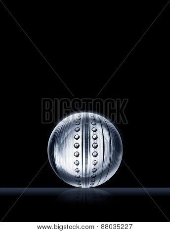 steel ball illustration