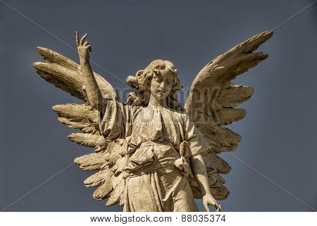 Winged Stone Angel