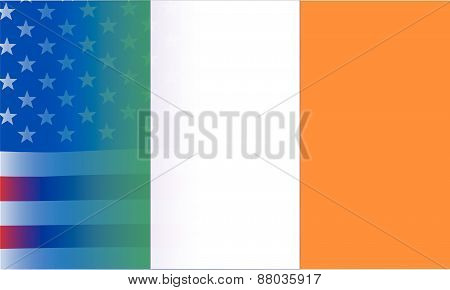 Irish Flag Stars And Stripes