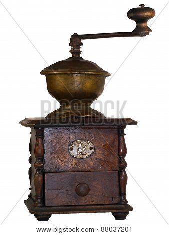 old hand grinder