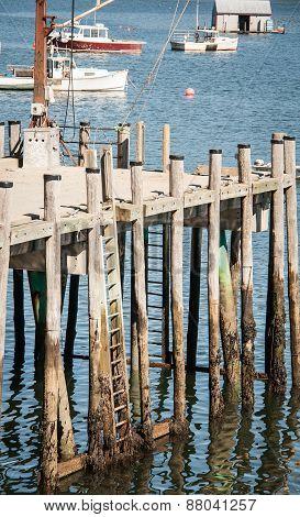 wooden wharf