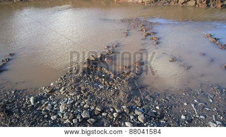 Sludge canal