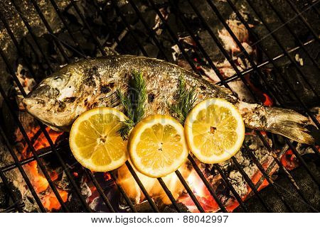 Char Grilled Sea Bream