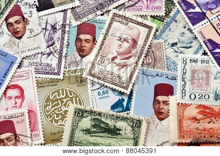 Morocco on stamps