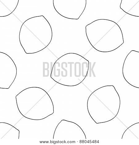 Delightful Garden - Seamless Pattern Of Lemons