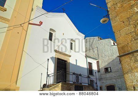 Church of Rosary. Bovino. Puglia. Southern Italy.