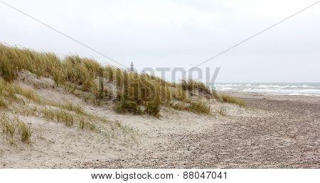 Beach At Skagen In Denmark