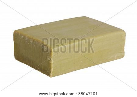 Piece Of Olive Green Soap