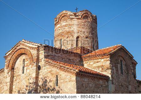 Church Of St. John The Baptist In Old Historical Nesebar