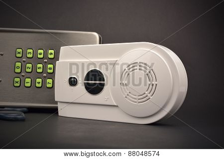 Interphone On Dark Background