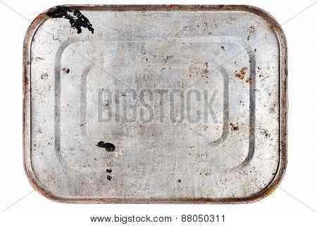 Rusty Metal Tin Can