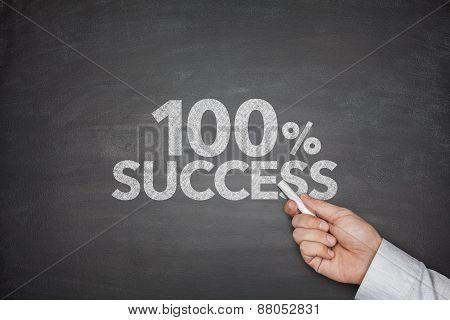 100 percentage success
