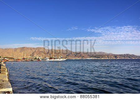 Red sea near Eilat