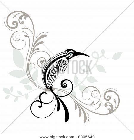 Bird With Coils