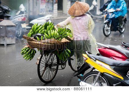 Street scene from Hanoi